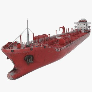 3D chemical tanker ship