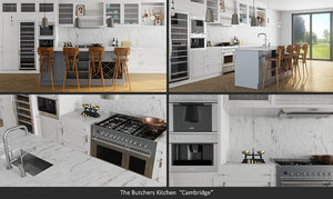 3D kitchen cambridge butcher