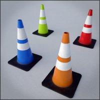 Traffic Cone game asset multi-pack