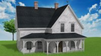 old country house 3D model