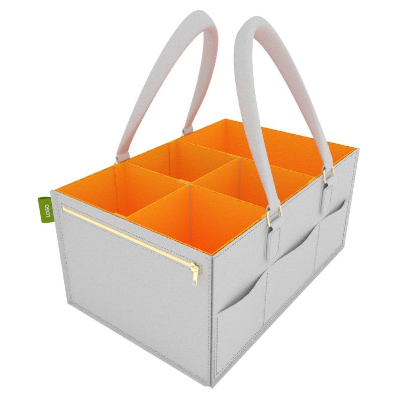 diaper caddy organizer 3D model