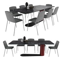 table chairs bold lago model