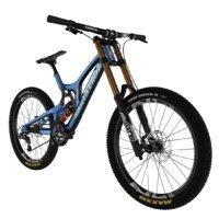3D santa bike model