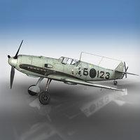 3D messerschmitt - bf-109 e