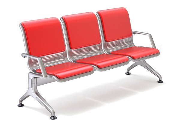 airport seat 3D