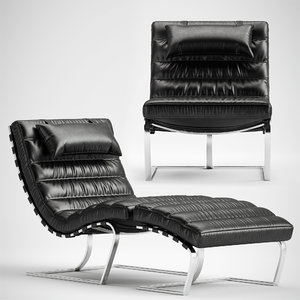 goodwyn lounge chair 3D
