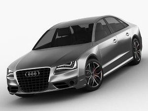 audi s8 2012 car 3D model