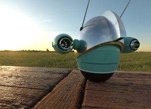 robot mini bot 3D model