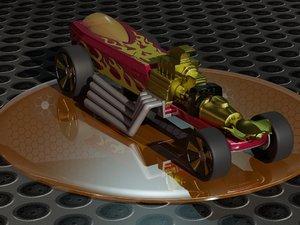 hot wheels rigor 3D model
