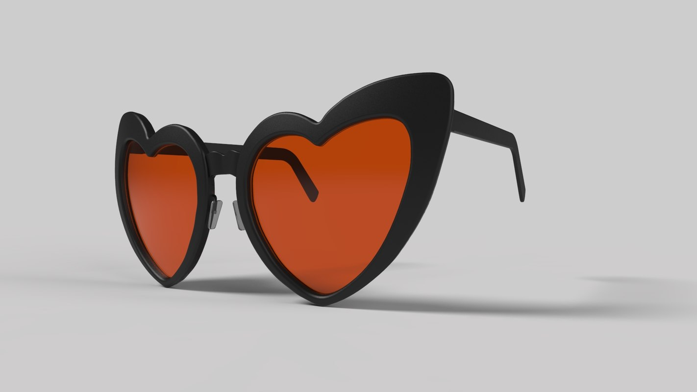 eyeglass shade spectacle 3D model