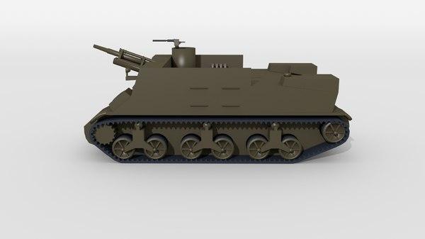 tank vehicle model