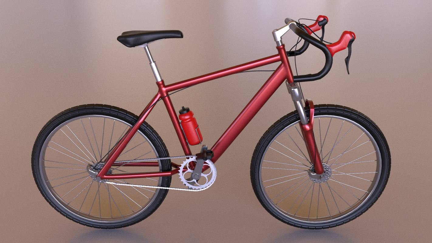 3D model cycle bicycle
