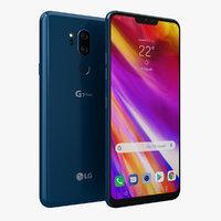 3D lg g7 thinq new model