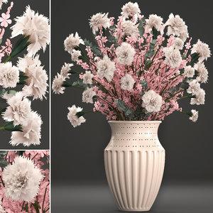 3D decorative bouquet flowers