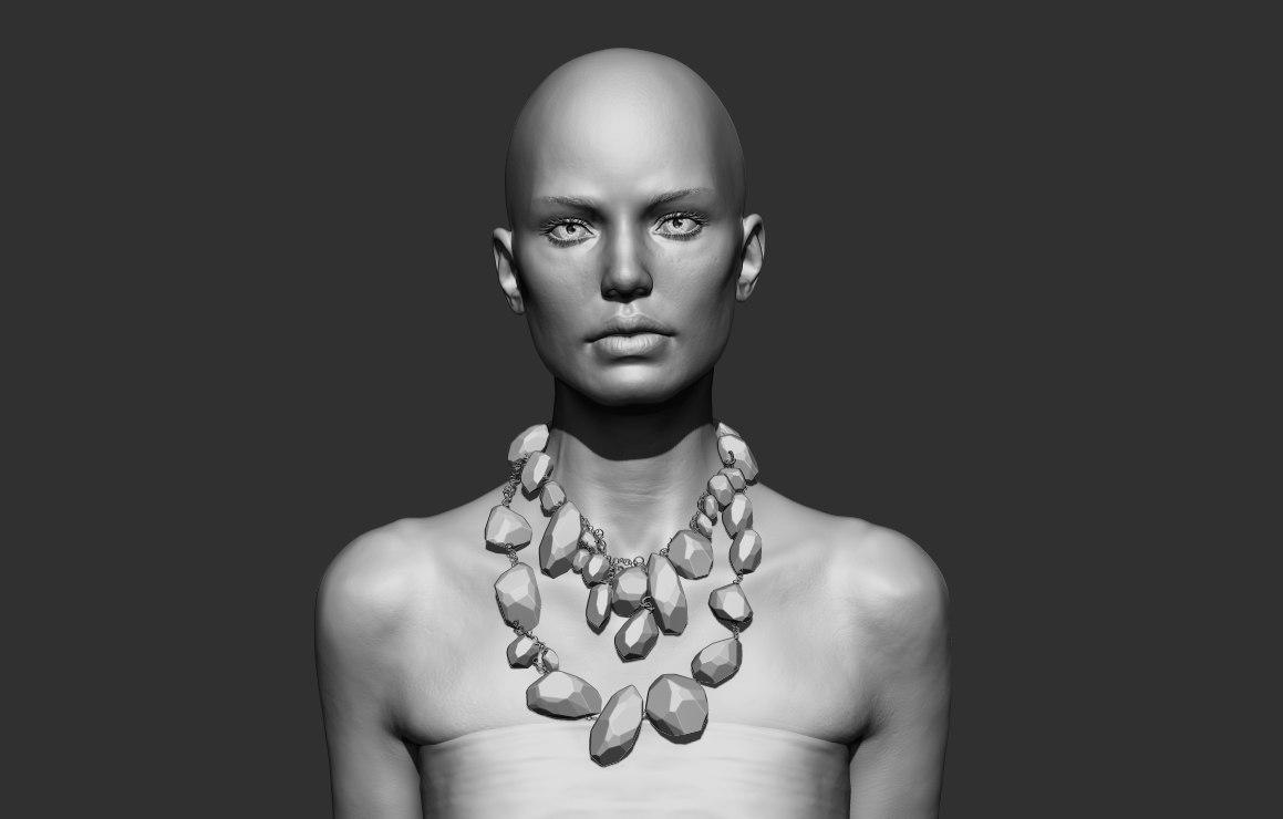 sculpture zbrush 3D
