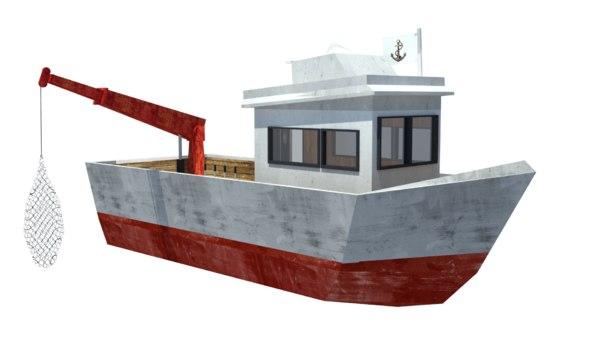 3D vessel fishing