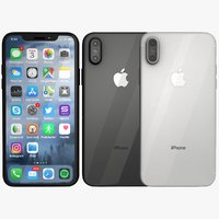 iPhone X silver and space grey set