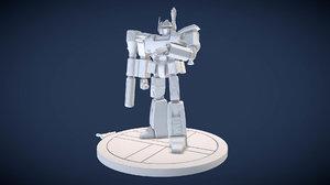 3D scaled bobamus prime model