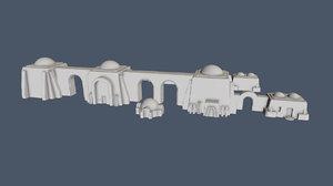 buildings 1 72 3D
