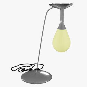 lamp light setting desktop 3D