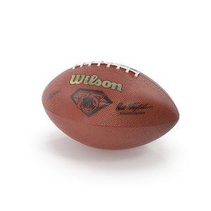 american football ball model