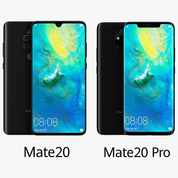 huawei mate 20 pro 3D