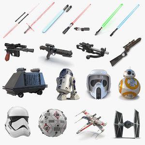 3D star wars 2 model