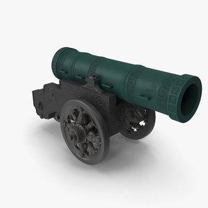 tsar cannon 3D