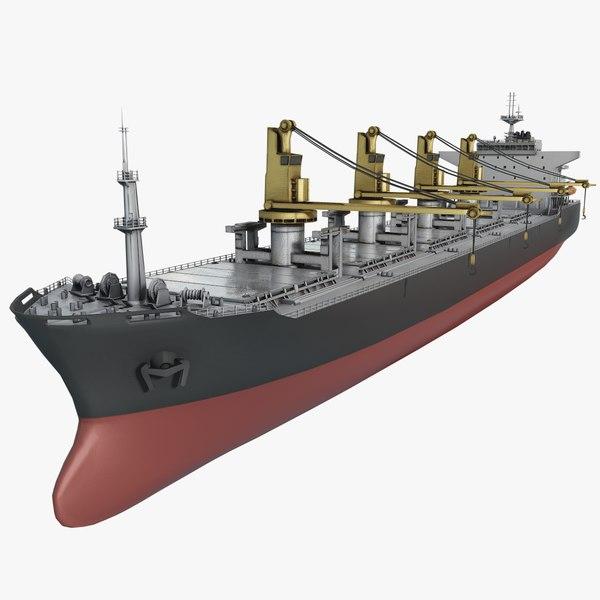 hd bulker ship max