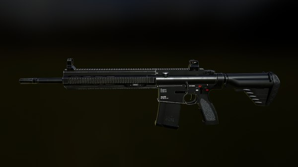 rifle 417 ar suppressor model