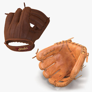 3D baseball gloves