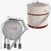contains oil tank 3D model