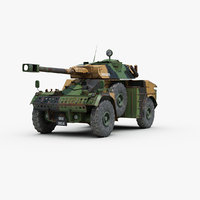 Panhard AML 90 Armored Car