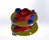 flange 3D model