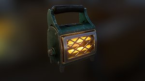 heater 01 low-poly 3D model