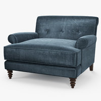 bramerton seat chair - 3D model
