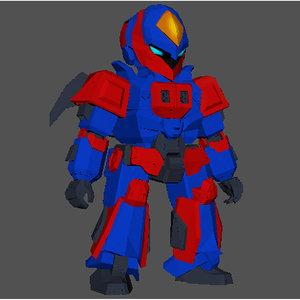 robot games 3D model