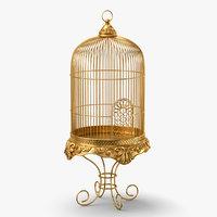 3D bird cage