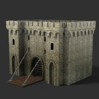 Medieval Gate2