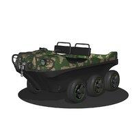 atv vehicle transport 3D