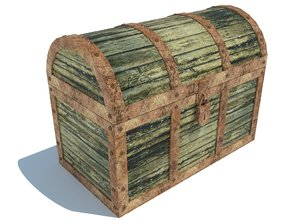 3D chest old model