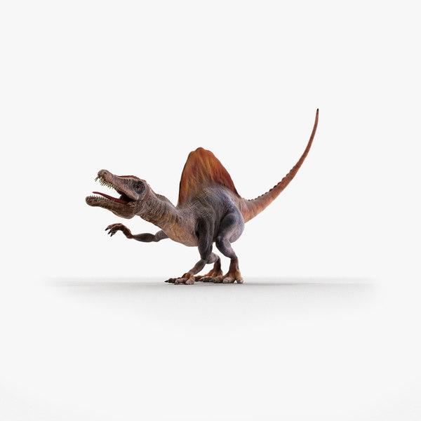 3D pentaceratops dinosaur