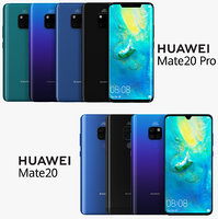 Huawei Mate 20 and Mate 20 Pro All Color
