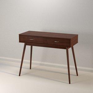 modern desk model