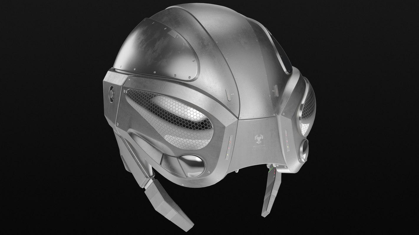 tactical helmet 3D