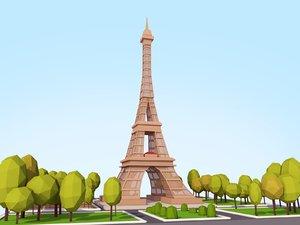 cartoon ready 3D model
