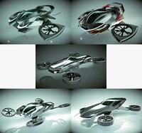 5 1 cool copter 3D model