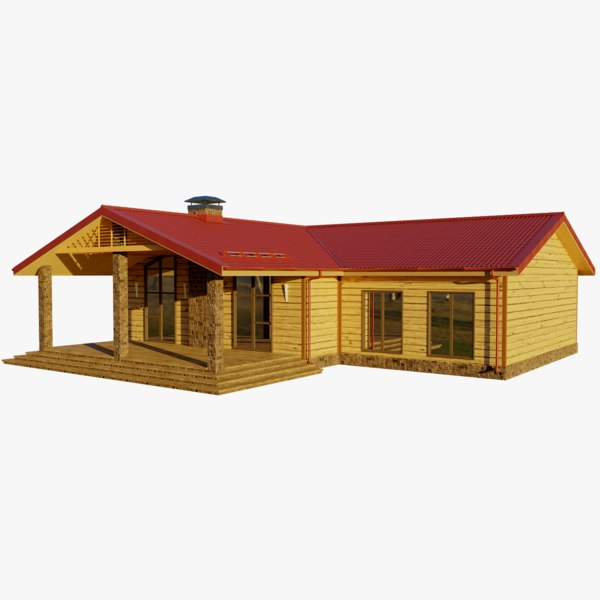 cottage 1 house model