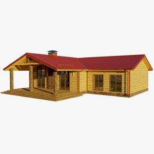 cottage 1 house model