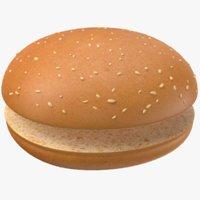 bread modeled pbr 3D model